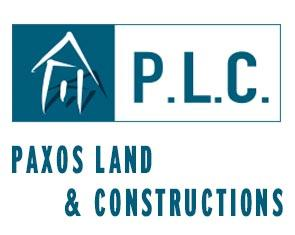 PLC – Paxos Land & Constructions logo
