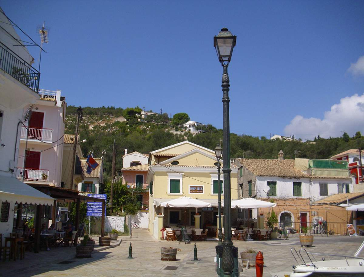 Gaios, the main port