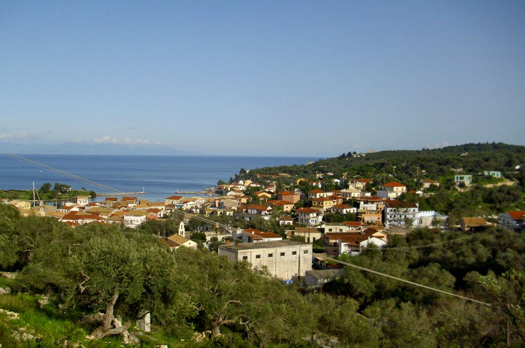 Gaios the capital of Paxos