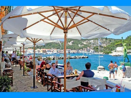 Catering in Paxos island - Paxos Map