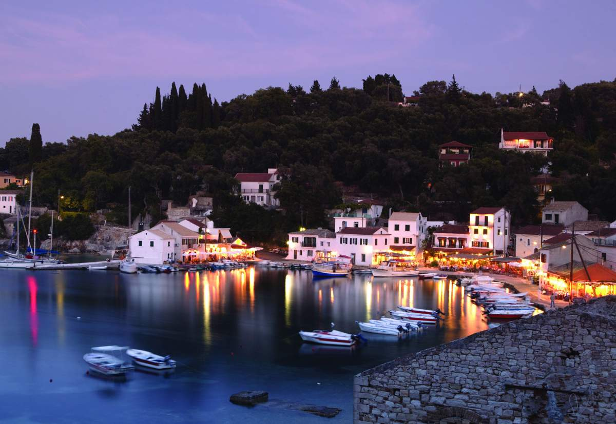 Loggos at Paxos island