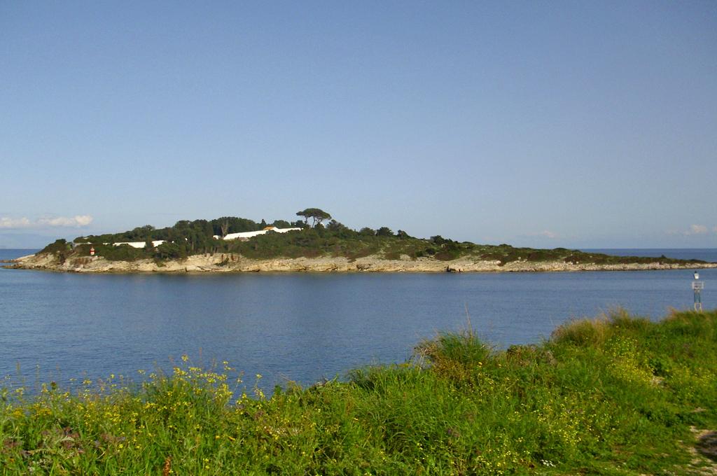 Panagia' island in Paxos