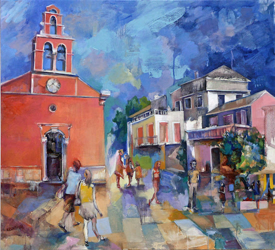 Marina-Krontira-Gaios-2017-Oil-on-canvas-105-x-115-cm